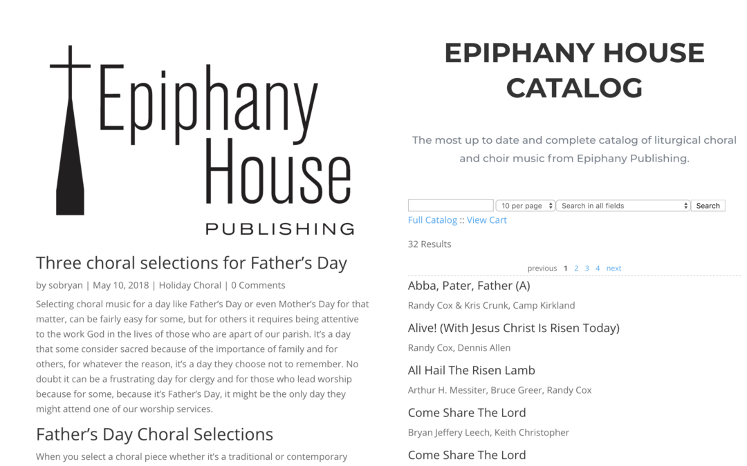 Epiphany House Relaunch!